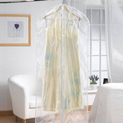 Strong Clear Moth Proof Plastic Dress Covers - Garment Cover
